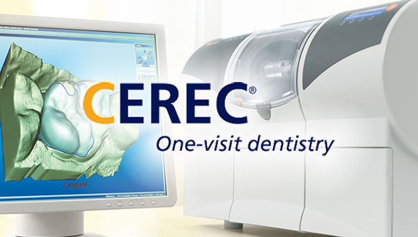 cerec dental crown three dimensional image and milling machine