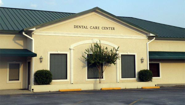 dental care center office macon